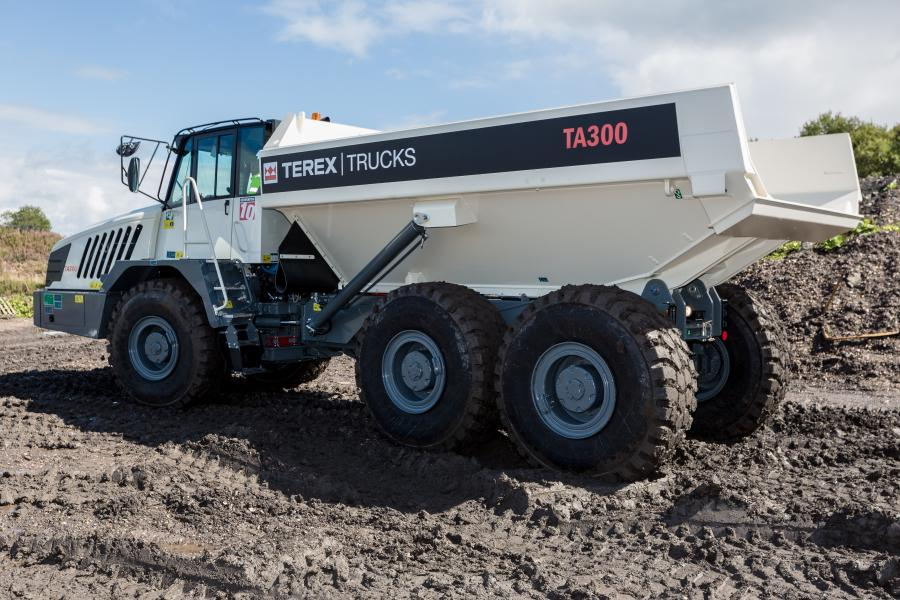 Terex Trucks' recently updated TA300 articulated hauler will soon be making its first international tradeshow appearance at bauma Munich 2019.
